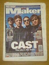 MELODY MAKER 1996 OCT 19 CAST RADIOHEAD TELSTAR MANICS