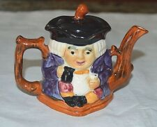 Vintage small Toby miniature Tea Pot / Creamer with Lid   Staffordshire. England