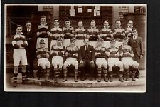 Wigan Grammar School (Rugby) 1st Team 1933 - real photographic postcard