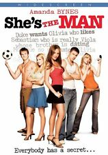 Shes the Man  DVD Amanda Bynes, Laura Ramsey, Channing Tatum, Vinnie Jones, Davi