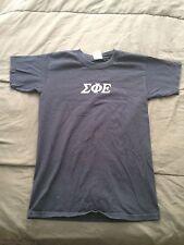 Navy Sig Ep Sigma Phi Epsilon Funny Frat Rush T Shirt Size S FREE SHIPPING!