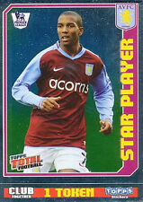 N°026 STAR PLAYER ASTON VILLA.FC STICKER TOPPS PREMIER LEAGUE 2009