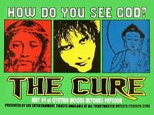 """The Cure Cynthia Woods 16"""" x 12"""" Photo Repro Concert Poster"""