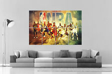 NBA stars Poster A0 Large Print