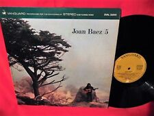 JOAN BAEZ 5 LP 1964 ITALY EX+ First Pressing BOB DYLAN