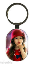 Personalized Metal Keychain, Customized With Both Side Photo Printing