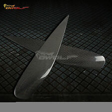 for 2004-06 Mitsubishi Lancer Ralliart Sportback Ls Carbon Fiber Eyebrow Eyelids