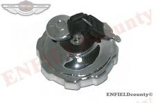 NEW CHROME PLATED PETROL TANK LOCKABLE FILLER CAP LID JAWA 250 350 353 559 @UK