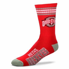 Ohio State Buckeyes Basketball Football NCAA Licensed Quarter Crew Socks