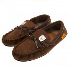 Hull City Fc Mens Brown Moccasins Moccasin Slippers UK 9/10 or EU 43/44