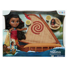 NEW Disney Moana Toddler Doll Boat Canoe Ocean Adventure playset