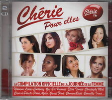 Compilation CD Chérie FM Pour Elles - France (M/M - Scellé / Sealed)