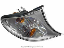 BMW E46 Turn Signal Light w/White Lens Right Front OEM + 1 year Warranty