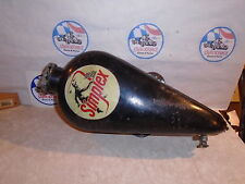 VINTAGE RACING GO KART SIMPLEX GAS TANK CART PART