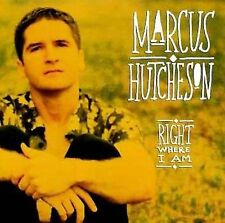 Right Where I Am by Marcus Hutcheson (CD, Ladyslipper)