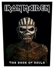 IRON MAIDEN - Rückenaufnäher Backpatch The Book Of Souls