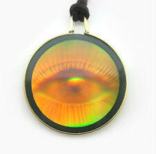 "N3D    Genuine 3D Eye Ball Hologram ""All Seeing Human Eye"" Pendant Necklace"