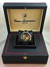 Men's Tonino Lamborghini Watch Carbon Fiber Spyder Chronograph 100SSB Box/Papers