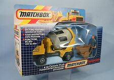 Vintage Matchbox SuperKings Bedford T M Cement Truck operating 1985 boxed