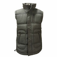 Mens Padded Lined Fleece Quilted Sleeveless Gilet Gillet Coat Body Warmer Jacket
