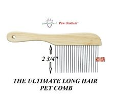 "EXTRA LONG ""POODLE Style"" UTILITY Dog Cat Pet HAIR Coat Grooming XL TOOTH COMB"