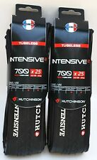 Hutchinson Intensive 2 tubeless clincher 700 X 25 pair (2 tires)