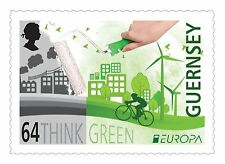 GUERNSEY 2016 EUROPA CEPT.THINK GREEN.1 stamp.MNH