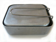 BRITISH ARMY ISSUE MESS TINS - USED GRADE 1 - CAMPING - CADETS