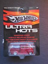 Hot Wheels 1/64 Diecast Ultra Hots 1950's '50s Chevy Truck - Red