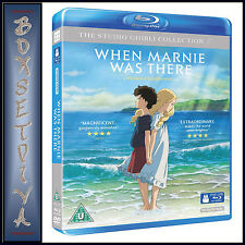 WHEN MARNIE WAS THERE - STUDIO GHIBLI COLLECTION **BRAND NEW BLURAY**
