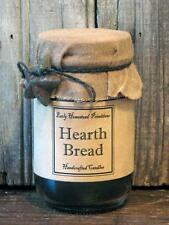 Primitive Rustic Country Handmade Hearth Bread Scented Jar Candle