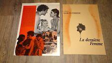 LA DERNIERE FEMME ! ornella muti rare dossier presse scenario cinema 1976