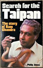 RARE SIGNED SEARCH FOR TAIPAN Book STORY OF RAM CHANDRA by PHILIP JONES SNAKES