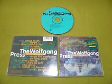 The Wolfgang Press - Funky Little Demons - RARE 1995 USA CD / Gold Promo Stamp