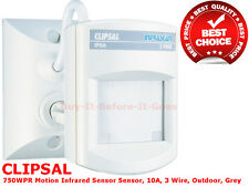 CLIPSAL MOTION SECURITY SENSOR INFRASCAN 3 WIRE PASSIVE INFRARED