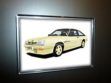 OPEL MANTA GTE HATCHBACK FRIDGE MAGNET. CHOOSE YOUR CAR COLOUR.