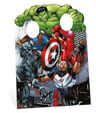 Avengers Hulk Iron Man Captain America Child Size Cardboard Cutout Stand-in