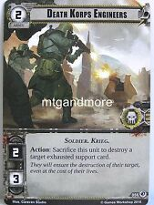 Warhammer 40000 Conquest LCG - Death Korps Engineers  #056 - Deadly Salvage
