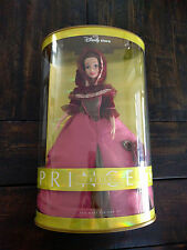 Disney Store Beauty and the Beast Belle Barbie Doll in Pink Gown - NIB