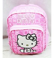 "NWT Hello Kitty 10"" Mini Backpack Bag Pink Newest Style Licensed Sanrio"