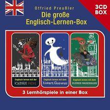 OTFRIED PREUßLER - DIE GROßE ENGLISCH-LERNEN-BOX (3-CD HSPBOX) 3 CD NEU