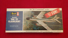 REVELL - YAK-25 Flashlight - Authentic Kit - VERY RARE - Vintage