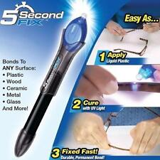 5 Second UV Light Fix Liquid Glass Welding Compound Glue Repairs Tool Utilitys