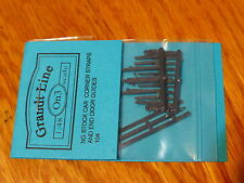 Grandt Line On3 #104 Narrow Gauge Car Corner Straps & End Door Guides (Plastic)
