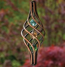 Beautiful Kinetic Copper Wind Spinner (New In Box)
