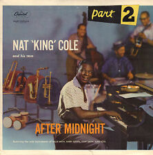 "NAT KING COLE ‎– After Midnight, Part 2 (1957 VINYL EP"" HOLLAND)"