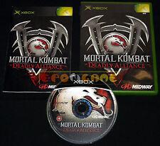 MORTAL KOMBAT DEADLY ALLIANCE Xbox Versione Ufficiale Italiana ○○○○○ COMPLETO