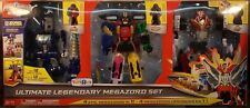 Power Rangers Deluxe Megaforce Ultimate Legendary Megazord Q Rex Turbo Falcon