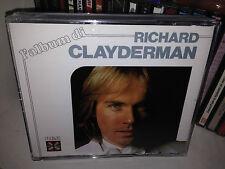 """RICHARD CLAYDERMAN """" L'ALBUM DI """" RARE BOX DOUBLE CD RCA 1987. FUORI CATALOGO."""