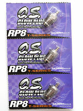 OS RP8 Turbo Cold On-Road Nitro Glow Plug - 3 Pack 71642080